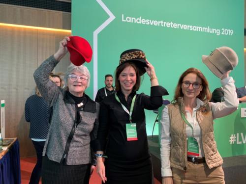 Katharina Landgraf MdB und Yvonne Magwas MdB